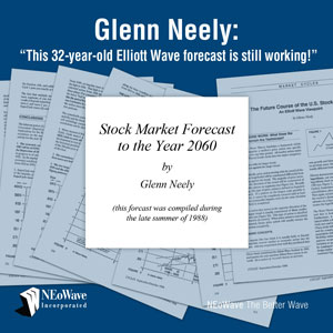 Stock Market Forecast to Year 2060 by Glenn Neely